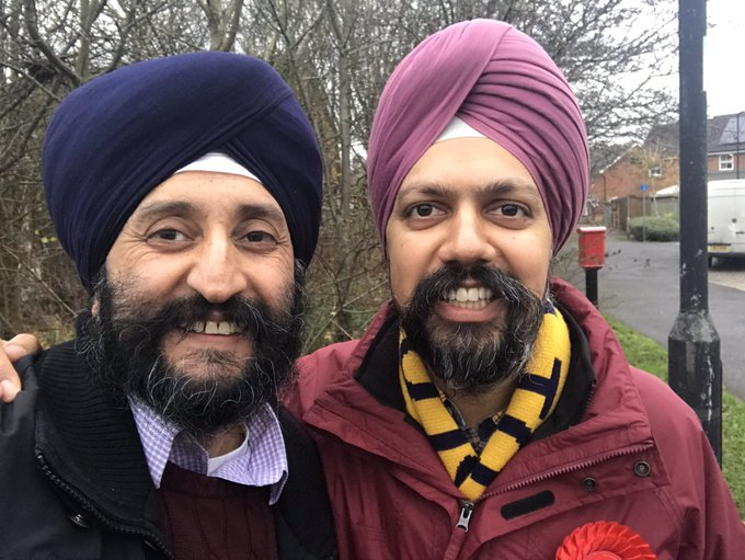 Dhesi is expected to keep his seat according to poll experts but is facing a challenge from Indian-origin Tory candidate Kanwal Toor Gill.