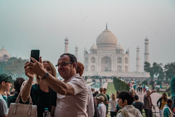 India received around 10.56 million (provisional) foreign tourist arrivals in 2018 registering a growth of 5.2 per cent over 2017. Photo Courtesy: Unsplash