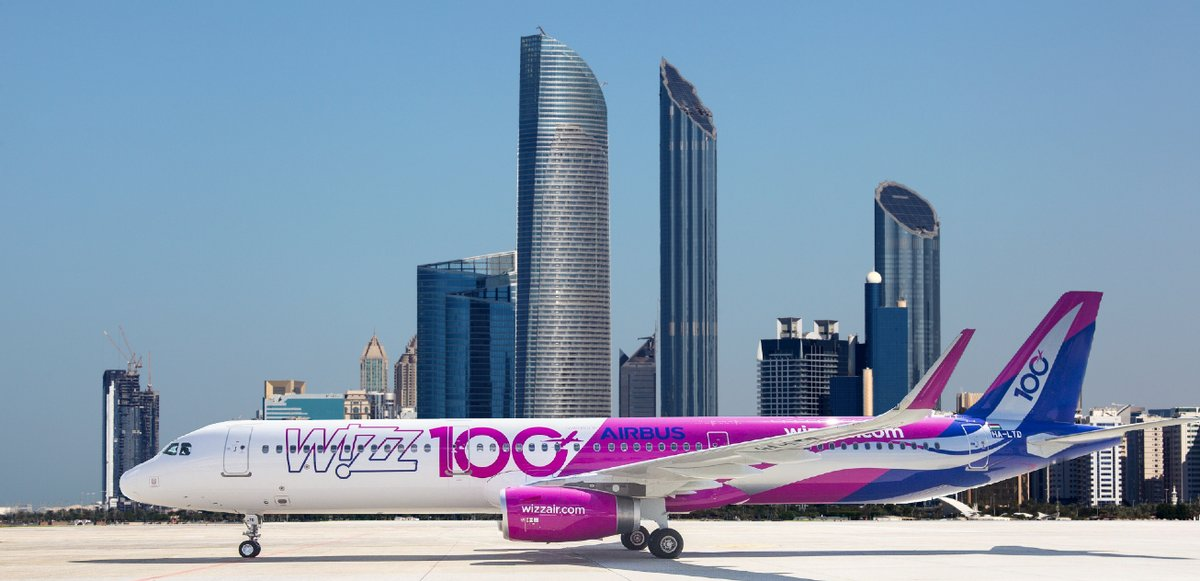 Wizz Air is a Budapest based low-cost carrier that is expanding to the Middle East with the launch of Wizz Air Abu Dhabi in mid 2020. Photo Courtesy: Wizz Air/ Twitter