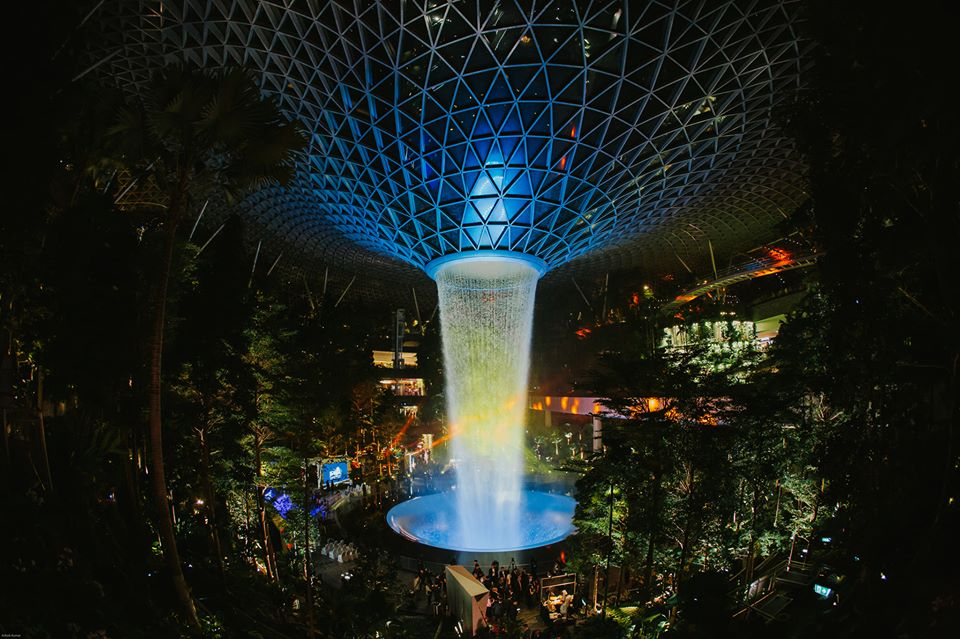 The Jewel Changi Airport also featured in Google's list of trending Singapore news for 2019. Photo courtesy: Facebook/Changi Airport