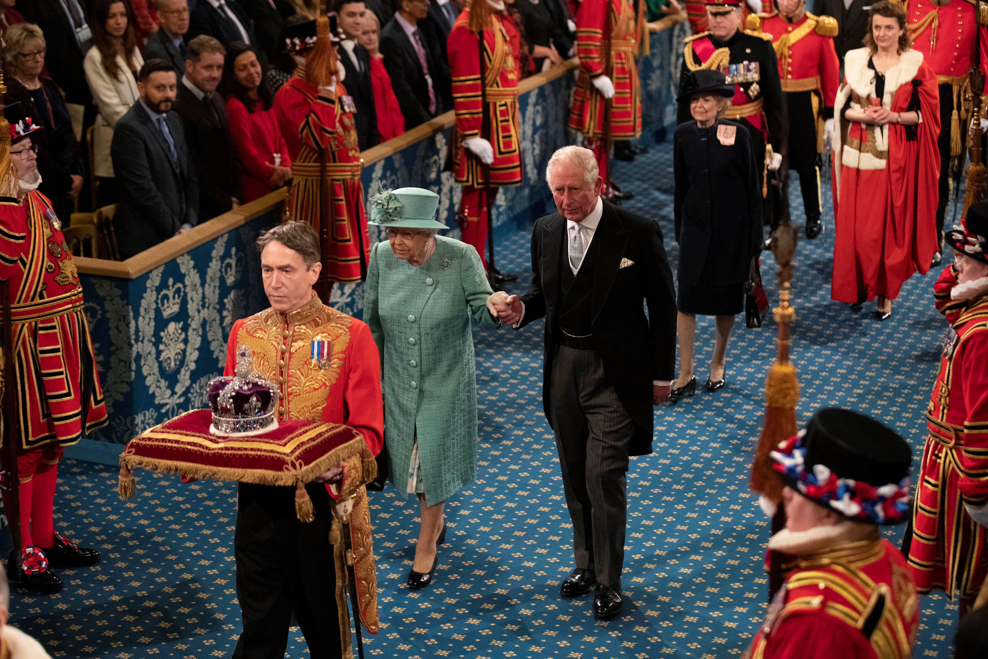 oday's #StateOpening was the 66th occasion that The Queen has opened Parliament.