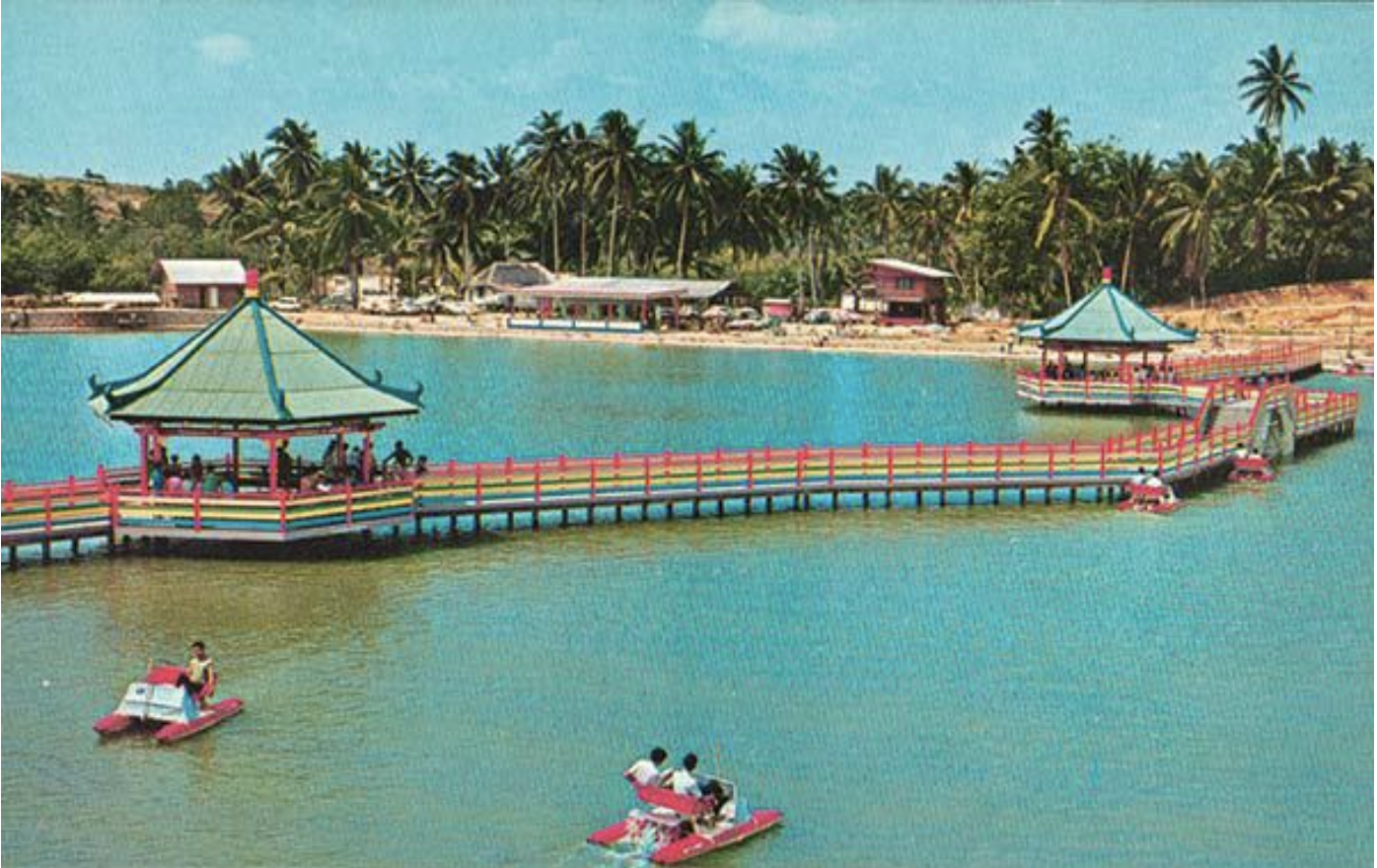Golden Palace Holiday Resort, 1970s. Courtesy of National Museum of Singapore, National Heritage Board. Photo courtesy: NHB