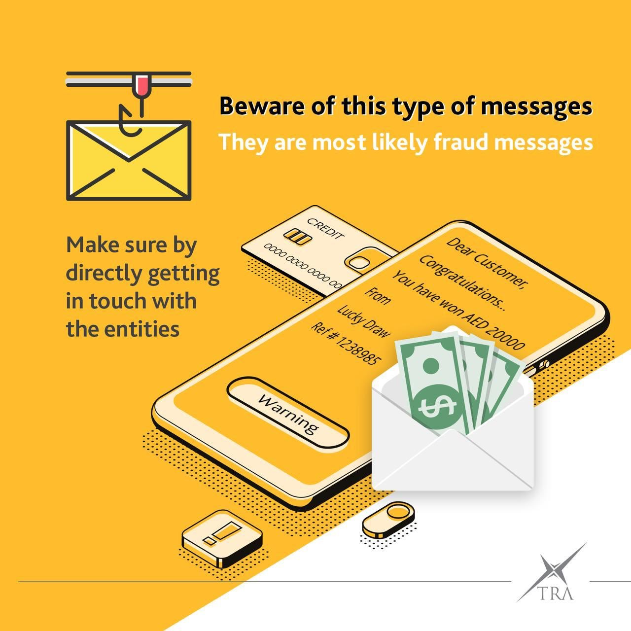 'Emotet' is a virus that is spreading fraudulent links through emails. Photo courtesy: Twitter/TheUAETRA