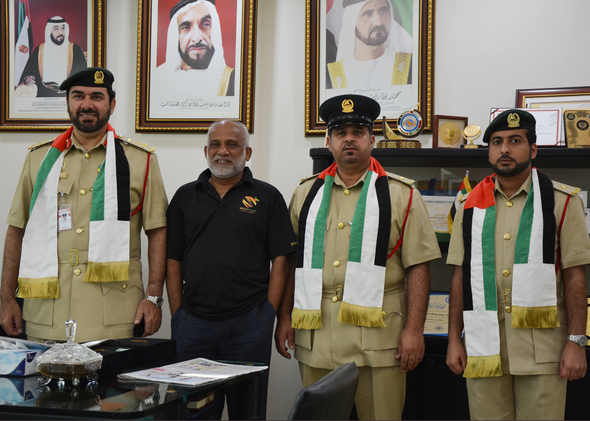 Well respected in the community, the prominent social worker supported various community activities of Dubai Police and the Indian Consulate in Dubai. Phot Courtesy: Nandi Nazri/ FB