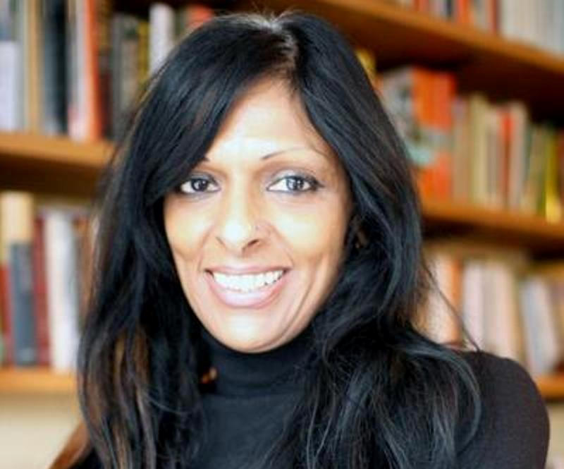 Professor Kalwant Bhopal, professor of education and social justice at the University of Birmingham becomes an MBE for services to race equality in education. Photo courtesy: Twitter/@KalwantBhopal