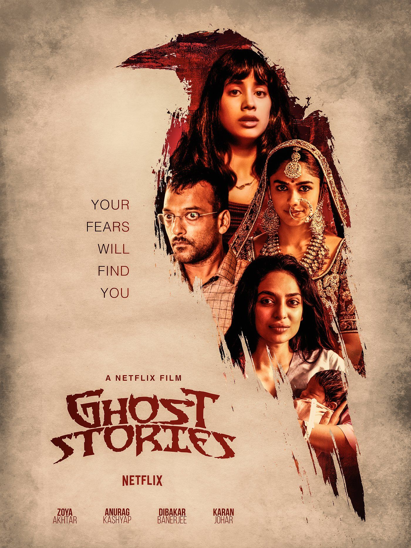 Crows are a common thread that tie a collection of four short tales, Nurse by Zoya Akhtar, Bird by Anurag Kashyap, Monster by Dibakar Banerjee and Granny by Karan Johar in Netflix' Ghost Stories. Photo Courtesy: Netflix