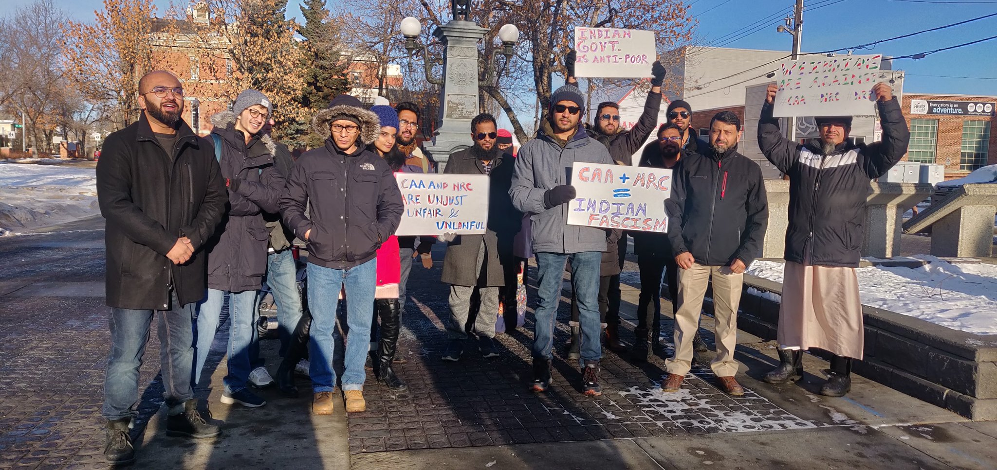 Canada, a popular destination for the Indian diaspora, is also witnessing a series of protests against the CAA and the proposed National Register of Citizens (NRC).