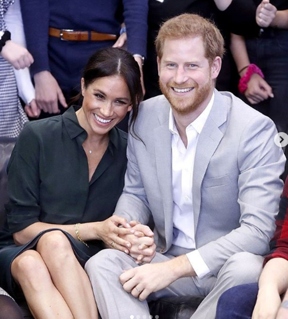 The Duke and Duchess of Sussex reportedly did not consult any member of their family before taking this decision. Photo courtesy: Instagram/sussexroyal