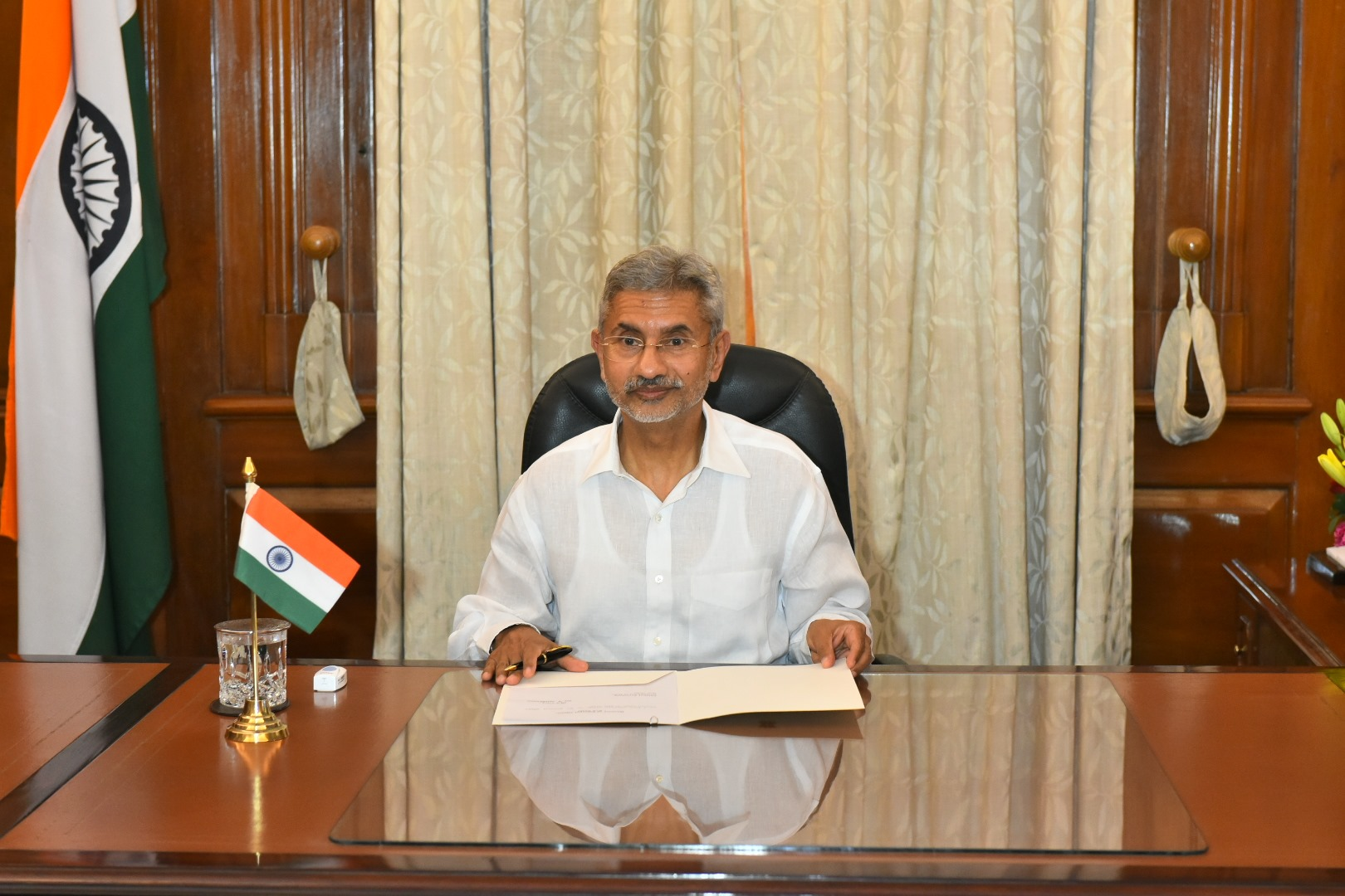 India's External Affairs Minister Dr S Jaishankar will interact with the Indian diaspora later today. Photo courtesy: Twitter