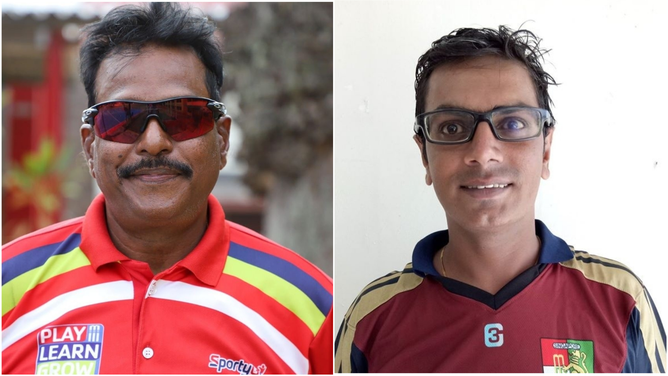 Left: Sarika Siva Prasad has been an international umpire. Right: Rajasthan born off spinner and batsman, Dharmichand Mulewa has played for Singapore's national side. Prior to relocating to Singapore, he played for the Indian state of Karnataka at Under-16, Under-19 and Under-22 levels, Ranji Trophy and three Test matches for India Under-19s in 2001. Photo Courtesy: Facebook