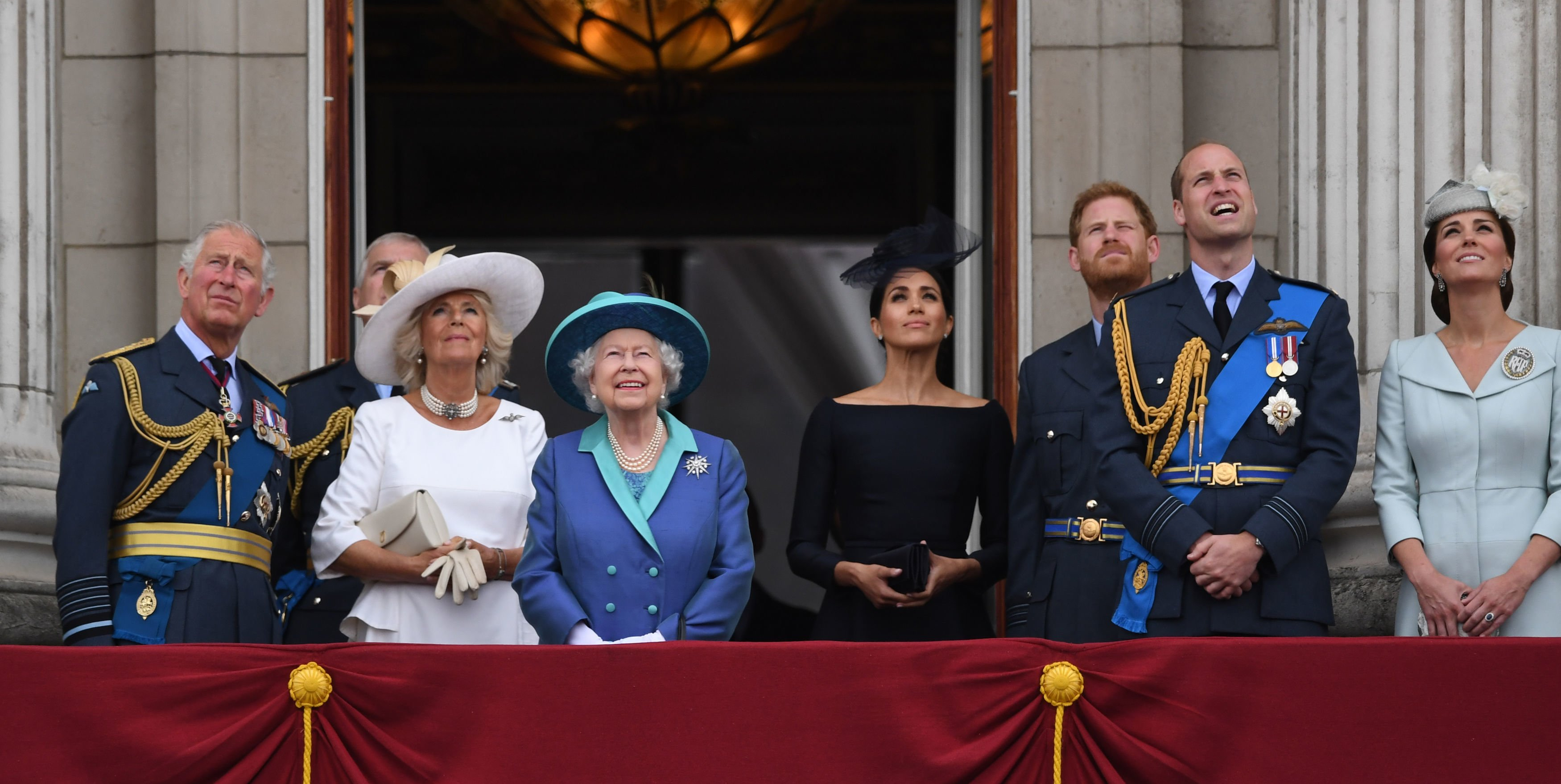 Queen Elizabeth II is scheduled to hold crisis talks with Princes Charles, William and Harry later today. File photo courtesy:Twitter/@Conservatives
