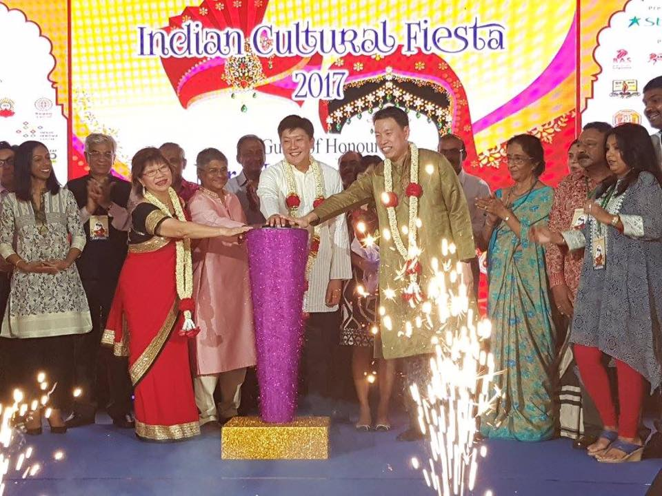 The annual Indian Cultural Fiesta has become a month long celebration with most Indian Associations in Singapore representing their food, culture, arts and traditions on various platforms around the Little India precinct. Photo Courtesy: LISHA