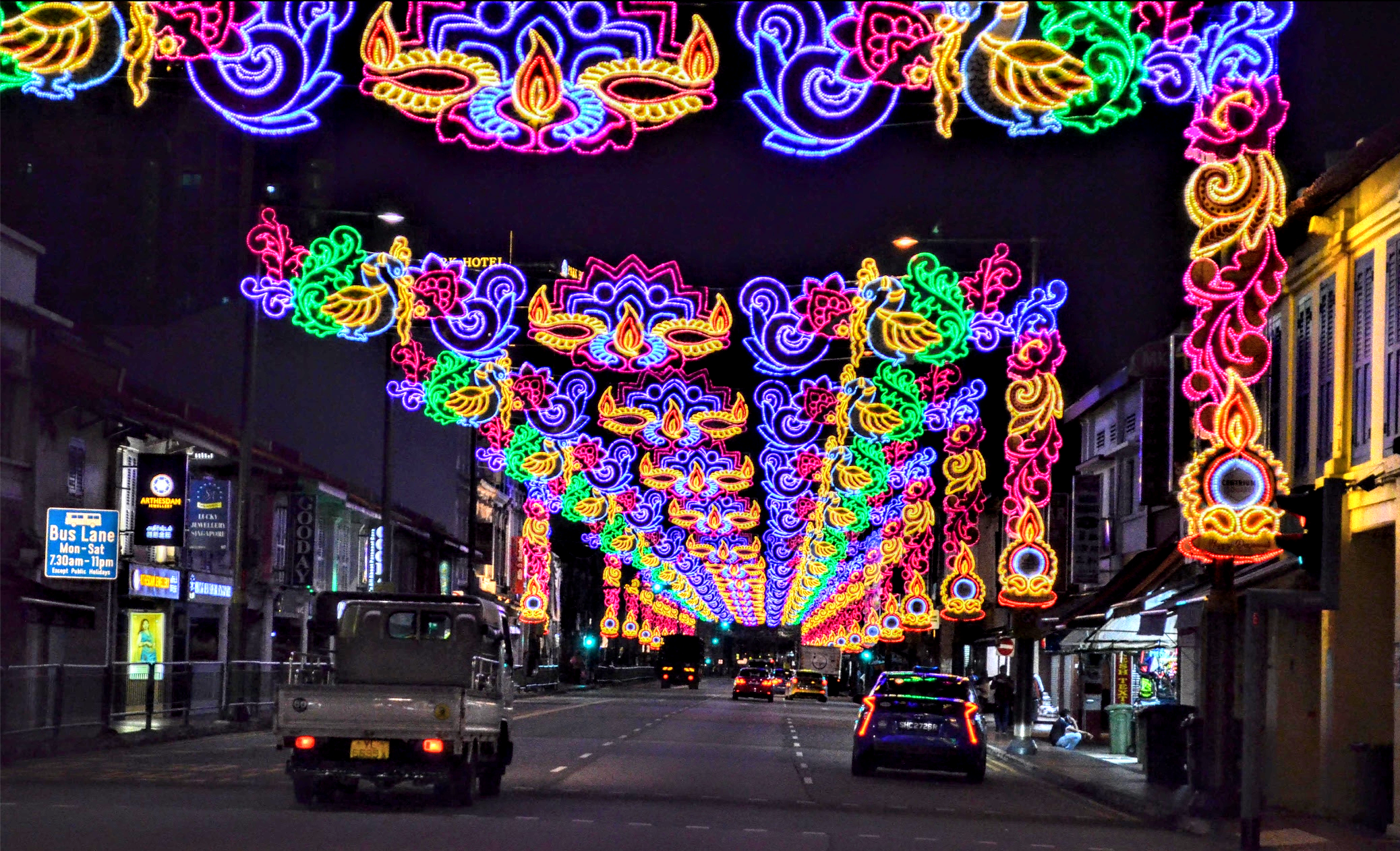 Little India's commercial, religious, heritage and cultural organisations are diverse, making it as colourful as the Deepavali light-up it puts up each year. Photo: Connected to India