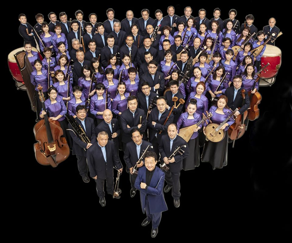 The Singapore Chinese Orchestra is 22 years old and is Singapore's only professional national Chinese orchestra. Its made up of more than 80 musicians. Photo Courtesy: Indian High Comm