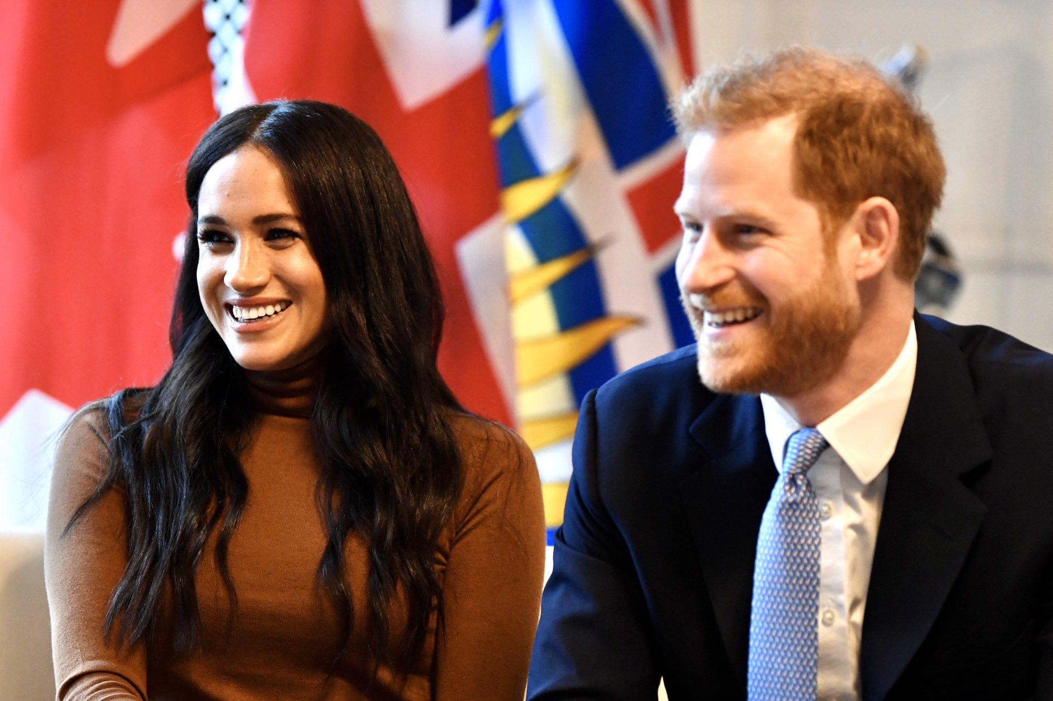 Prince Harry and Meghan will no longer be allowed to carry their royal titles as part of the separation process from the royal family. Photo courtesy: Twitter/@RoyalFamily