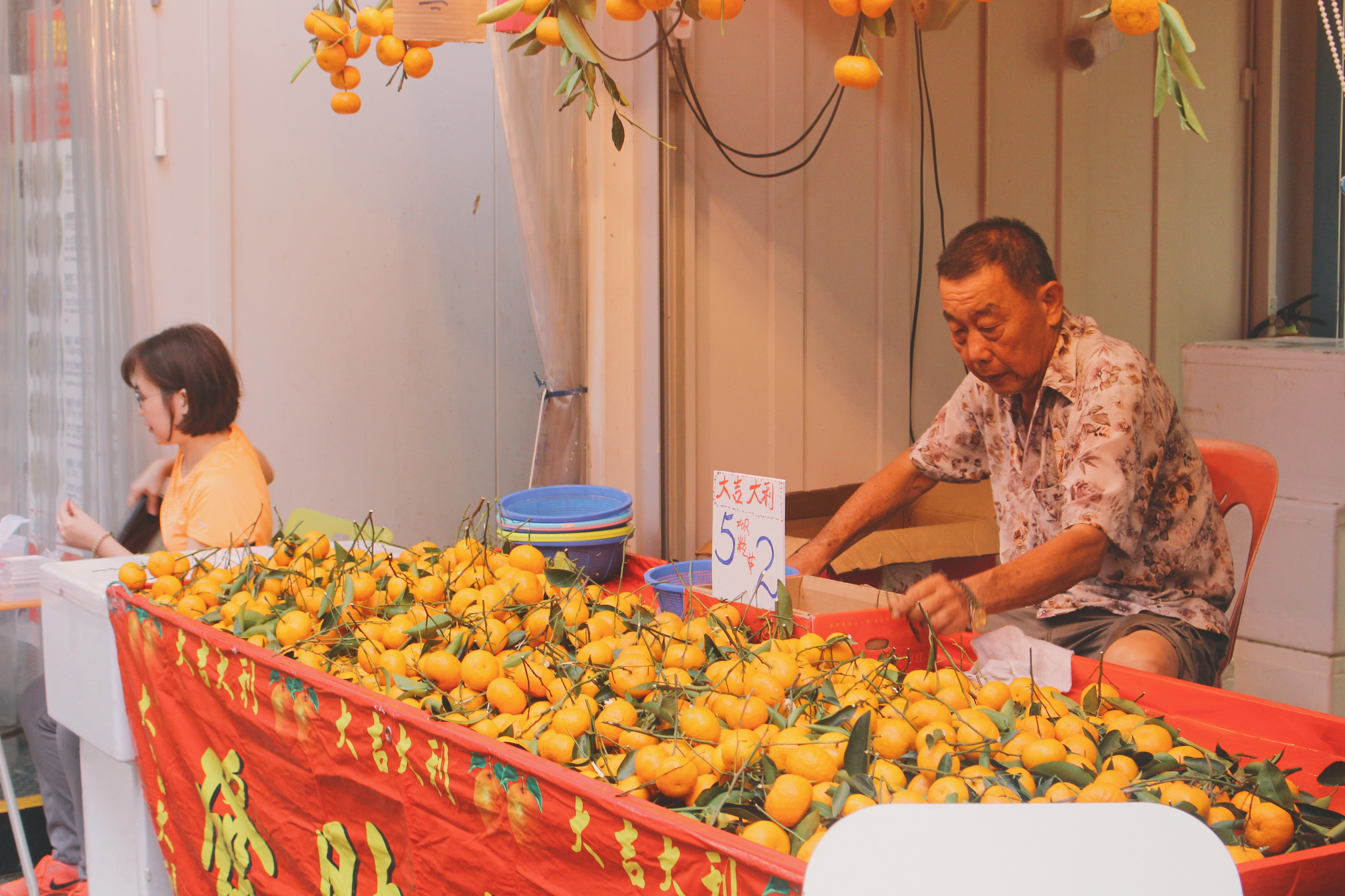Mandarin oranges are a must have as they are said to bring riches into your life. Photo: Connected to India