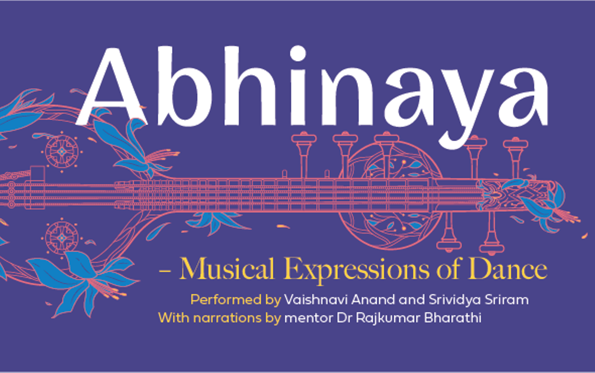 Abhinaya - Musical Expressions of Dance showcases the intrinsic bonds between Indian classical music and Indian classical dance. Photo courtesy: Esplanade