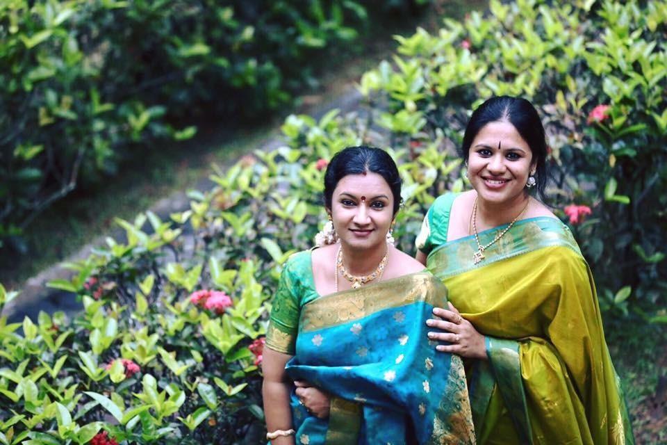 Vocalists Vaishnavi Anand and Srividya Sriram were both part of Esplanade's mentorship programme the Raga Carnatic Music Mentorship with Dr Rajkumar Bharathi. Photo courtesy: Esplanade