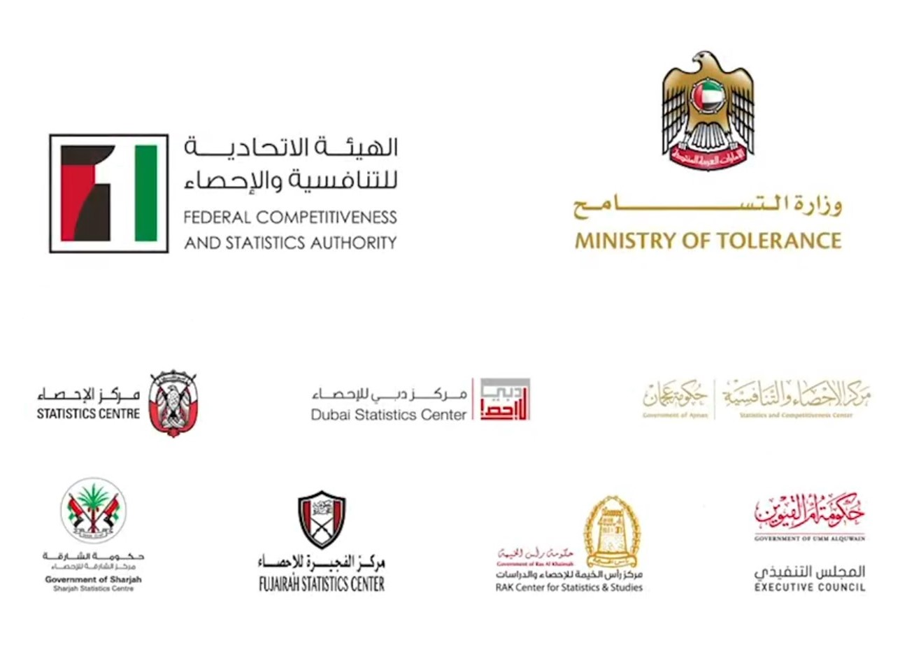 UAE's Federal Competitiveness and Statistics Authority, Ministry of Tolerance Office and Dubai Statistics have started the  National Coexistence Survey. Photo Courtesy: Twitter
