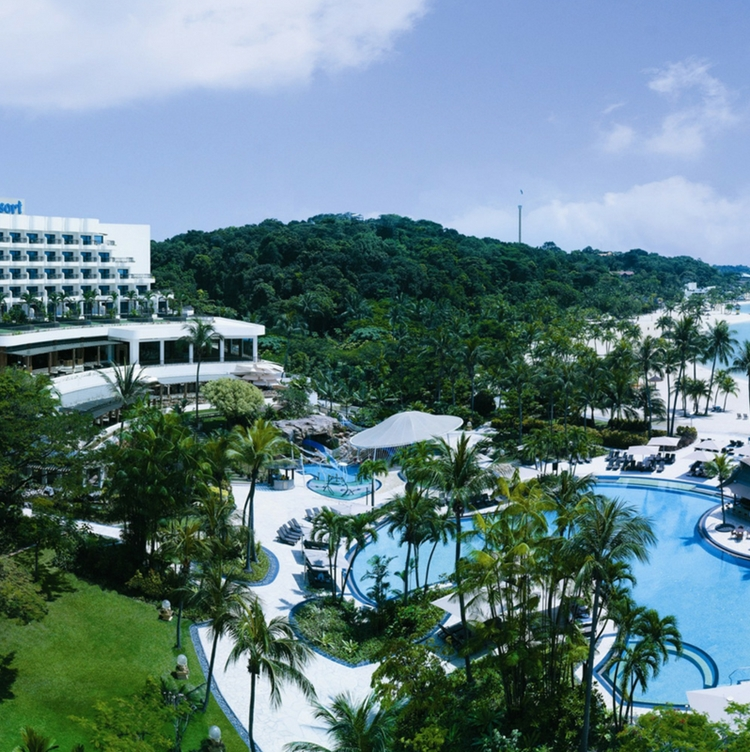 Prior to hospital admission, the patient who was the first confirmed case of the Wuhan virus stayed at Shangri-La's Rasa Sentosa Resort & Spa in Sentosa. Photo courtesy: Shangri-La