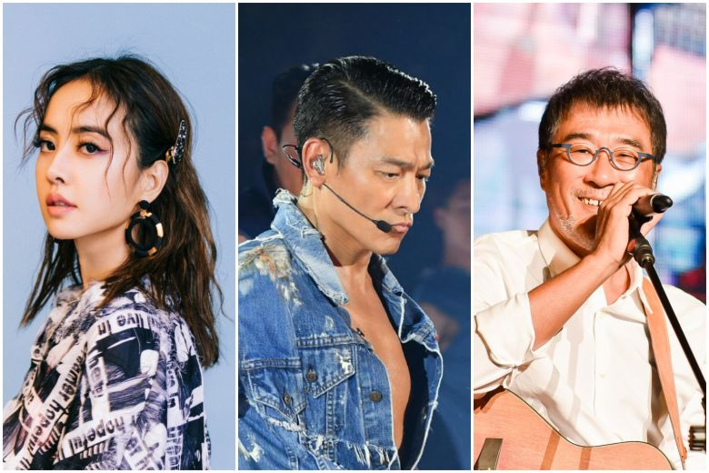 Mandopop stars such as Jolin Tsai and Jonathan Lee and Andy Lau have stalled their Chinese New year performances due to the Wuhan virus outbreak. Photo Courtesy: Twitter