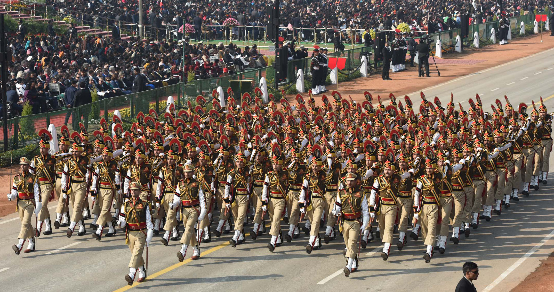 The Delhi Police Marching Contingent PIB