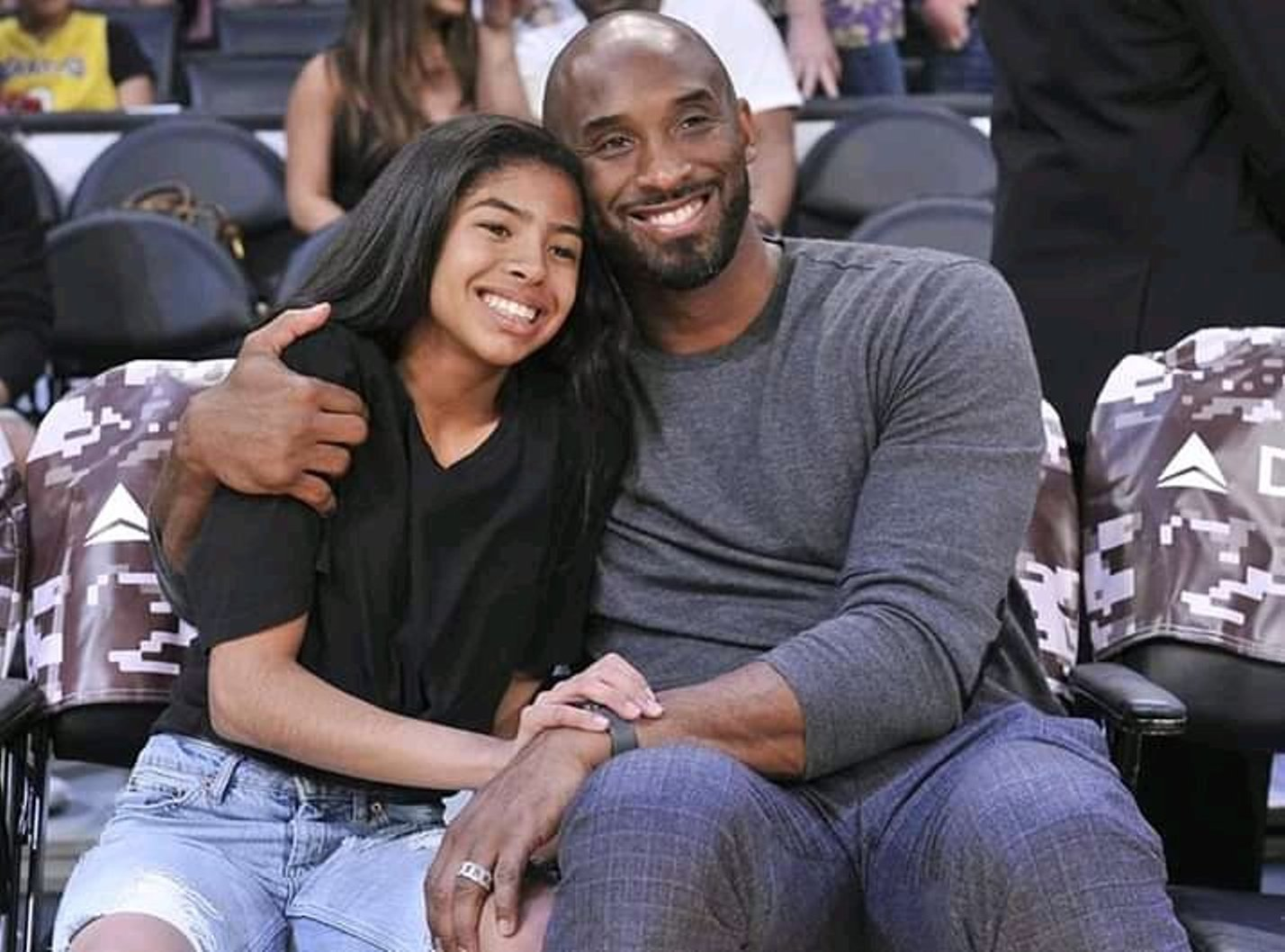 Bryant's 13-year-old daughter Gianna also died in the helicopter crash. Photo courtesy: Twitter