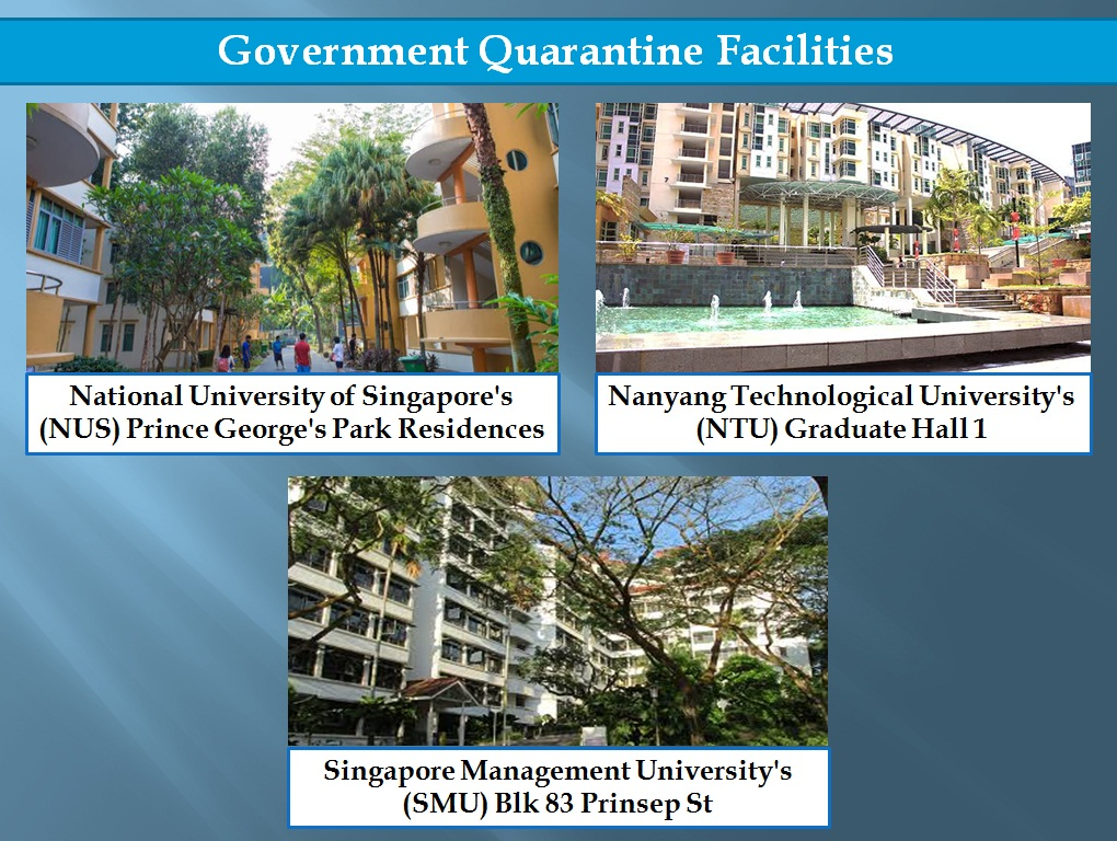 Photos courtesy: NUS, NTU and SMU