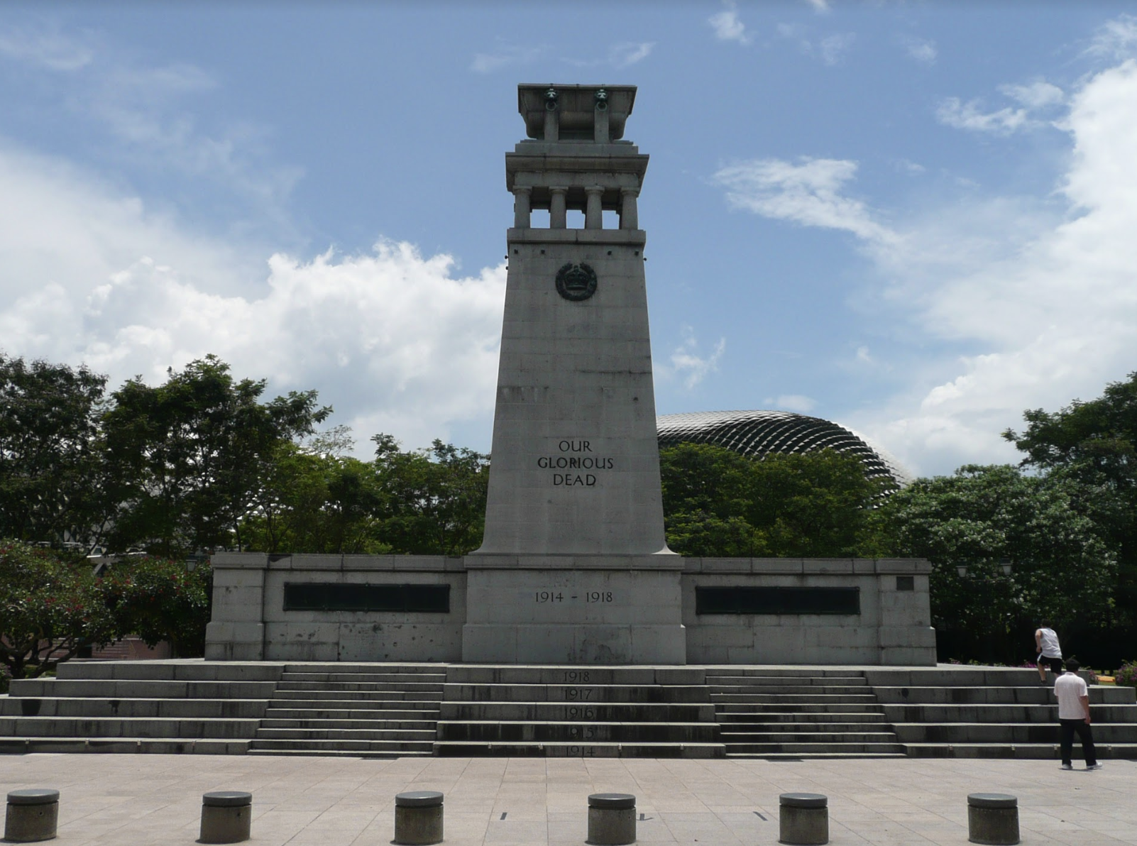 Cenotaph: Lest we forget. Photo courtesy: NHB