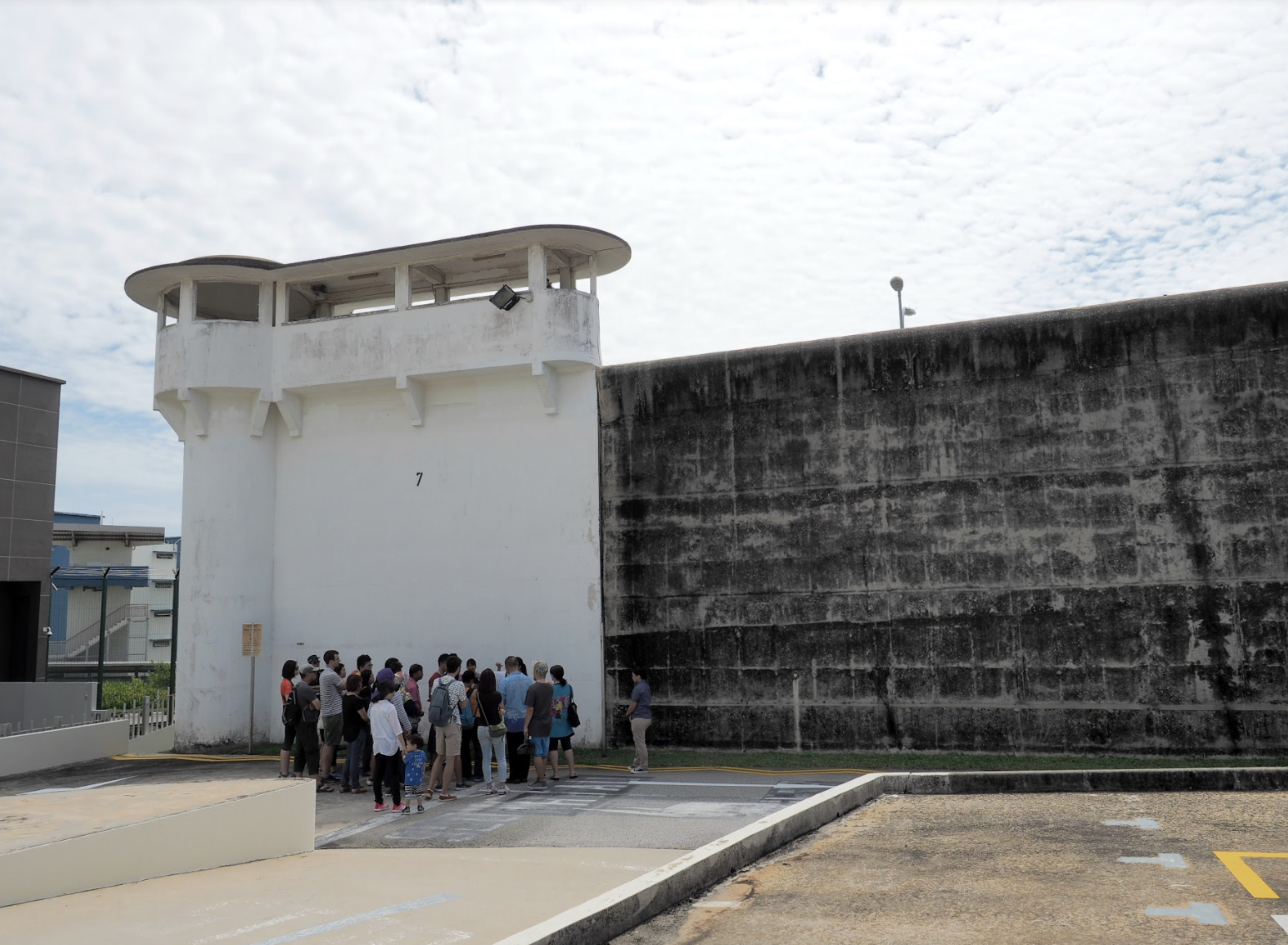 You can sign up for tours of Changi Prison Entrance Gate, Wall and Turrets. Photo courtesy: NHB