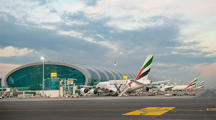 The UAE requires all arrivals from Beijing to undergo advanced preventive medical procedures that will take 6-8 hours. Photo Courtesy: Twitter