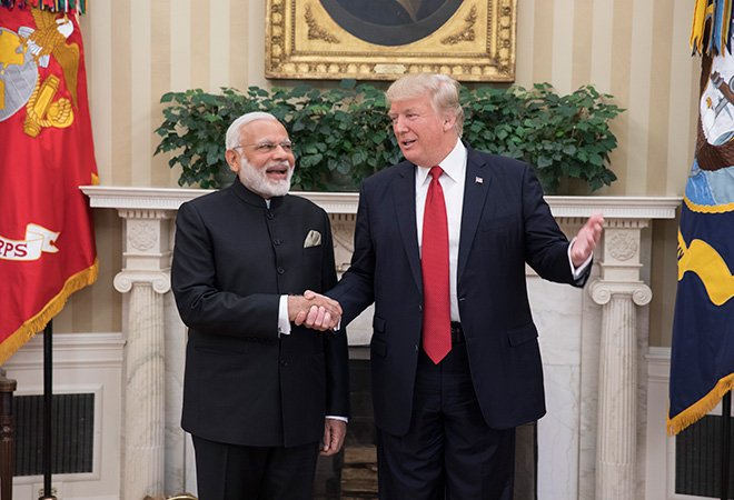 At the invitation of PM Modi, Trump is slated to travel to India on February 24 and 25.
