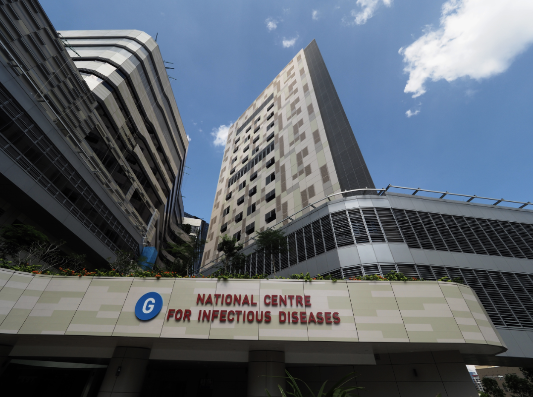 National Centre for Infectious Diseases. Photo courtesy: NCID