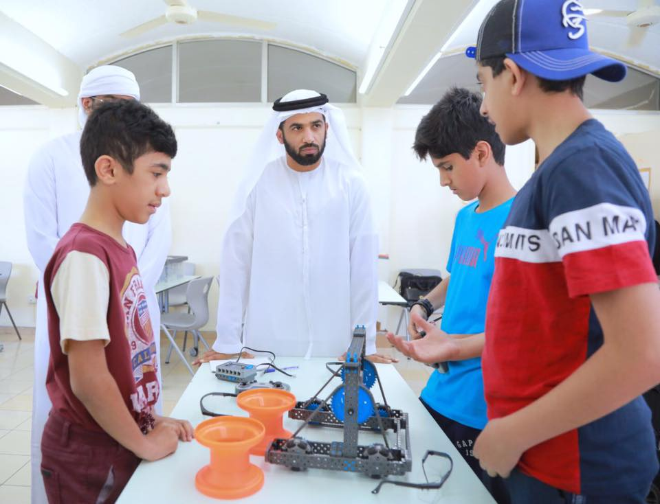 The initiative hopes to strike a balance between the student's academic and family life and ensure optimum utilisation of students time. Photo Courtesy: Ministry of Education UAE Facebook Page