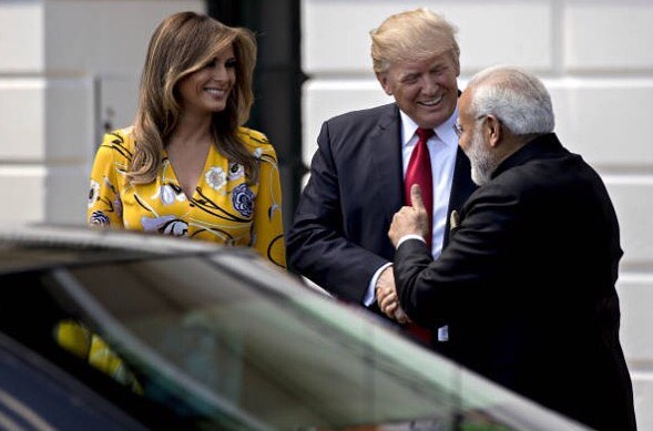 Modi in his tweet had termed the US President and First Lady's visit to India as a