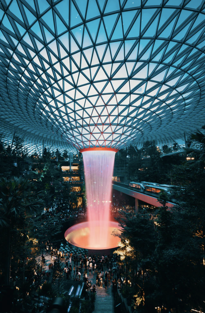 Jewel Changi Airport. Photo courtesy: unsplash
