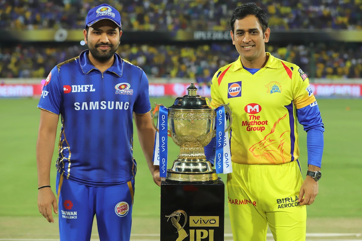 Mumbai Indians will host Chennai Super Kings in the opening match of IPL 2020 on March 29. Photo courtesy: Twitter/@IPL