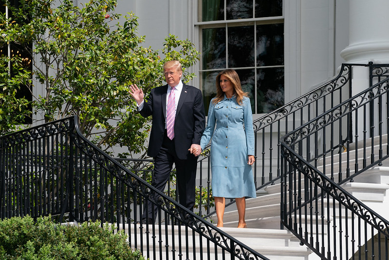 Trump and his wife Melania Trump will be on a flying 36-hour visit to India during which they are scheduled to touch down in Ahmedabad, Agra and New Delhi with numerous events planned.