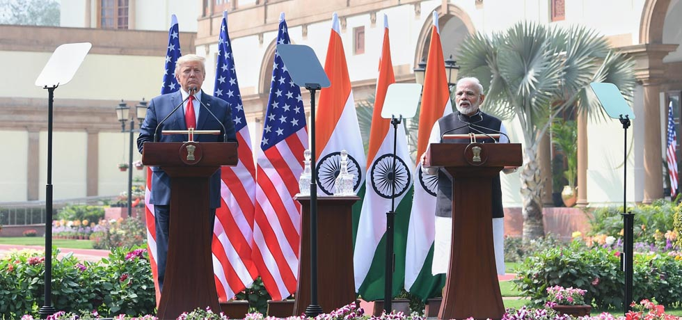 Modi and US President Donald Trump on Tuesday held extensive talks covering the entire spectrum of bilateral ties, including the key areas of defence, security, and trade and investment.