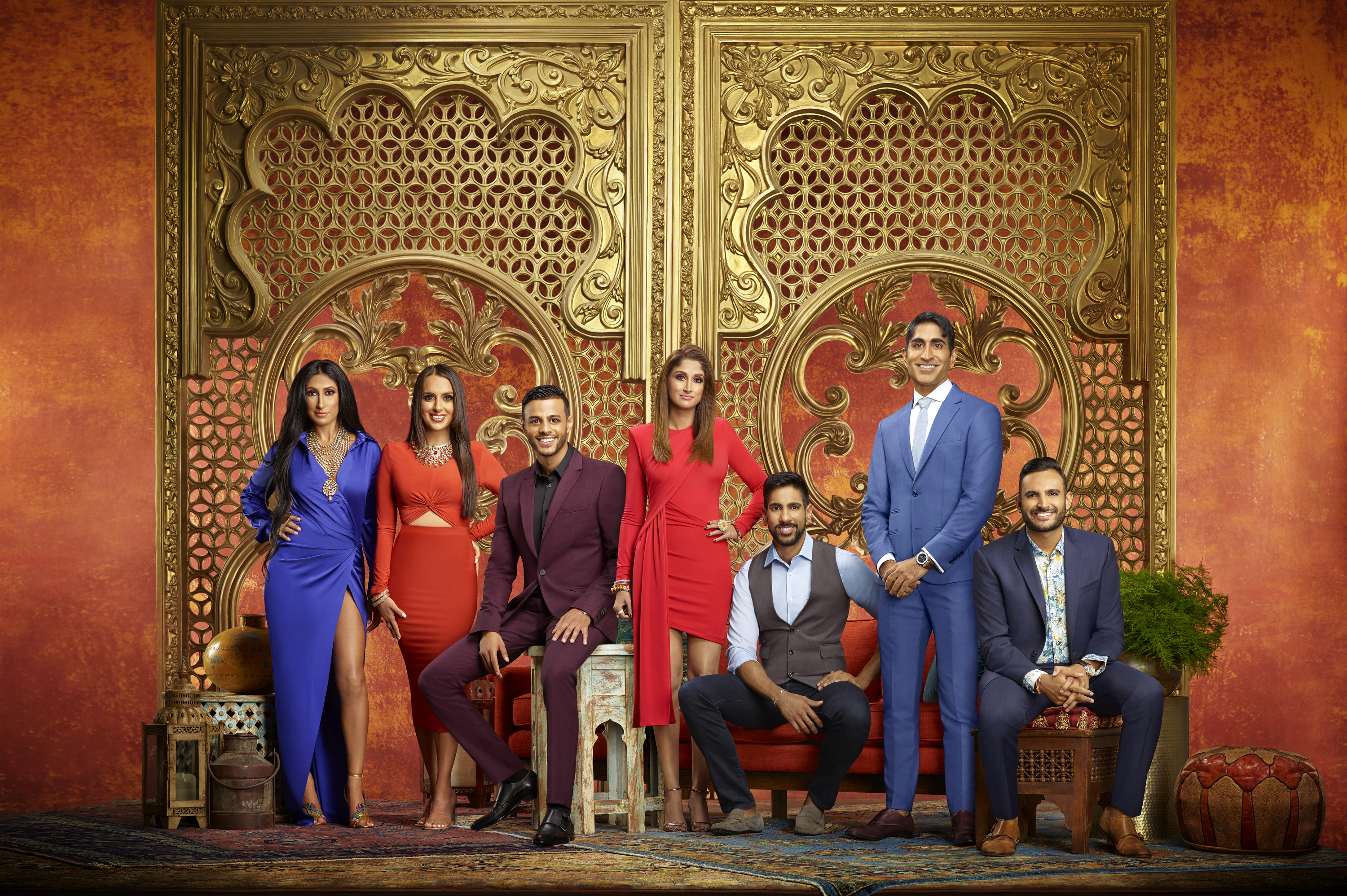 Family Karma on Bravo TV is the first reality series with an all-Indian cast in US television history. Photo courtesy: BravoTV