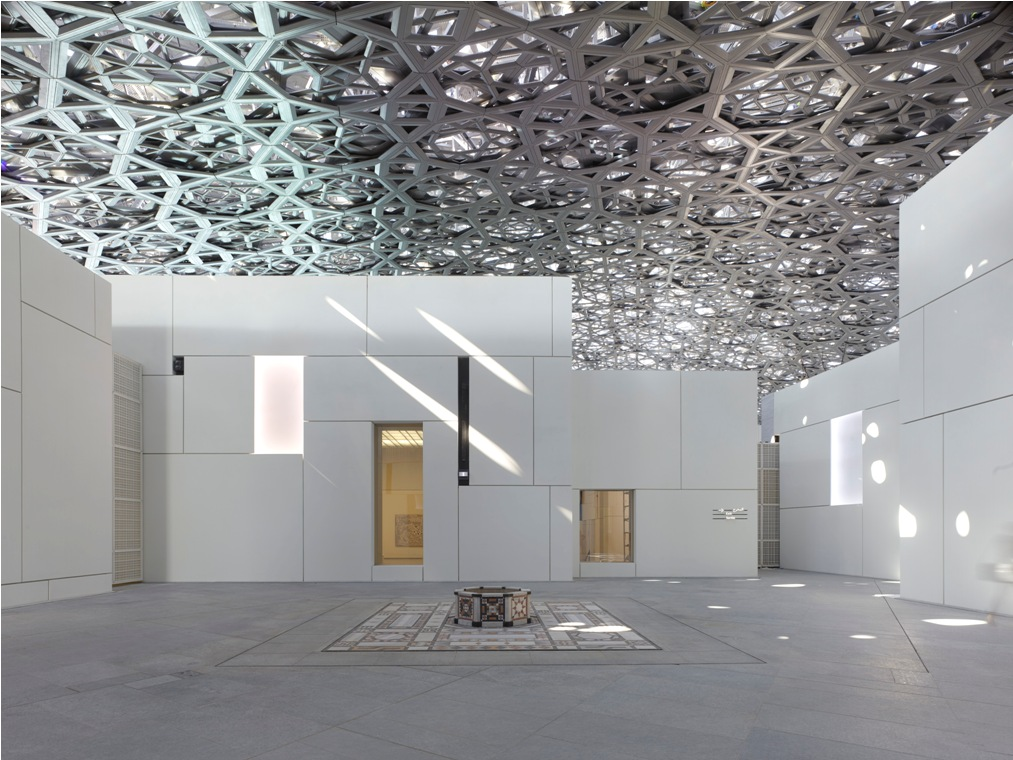 The Louvre Abu Dhabi. Photo courtesy: Department of Culture and Tourism - Abu Dhabi