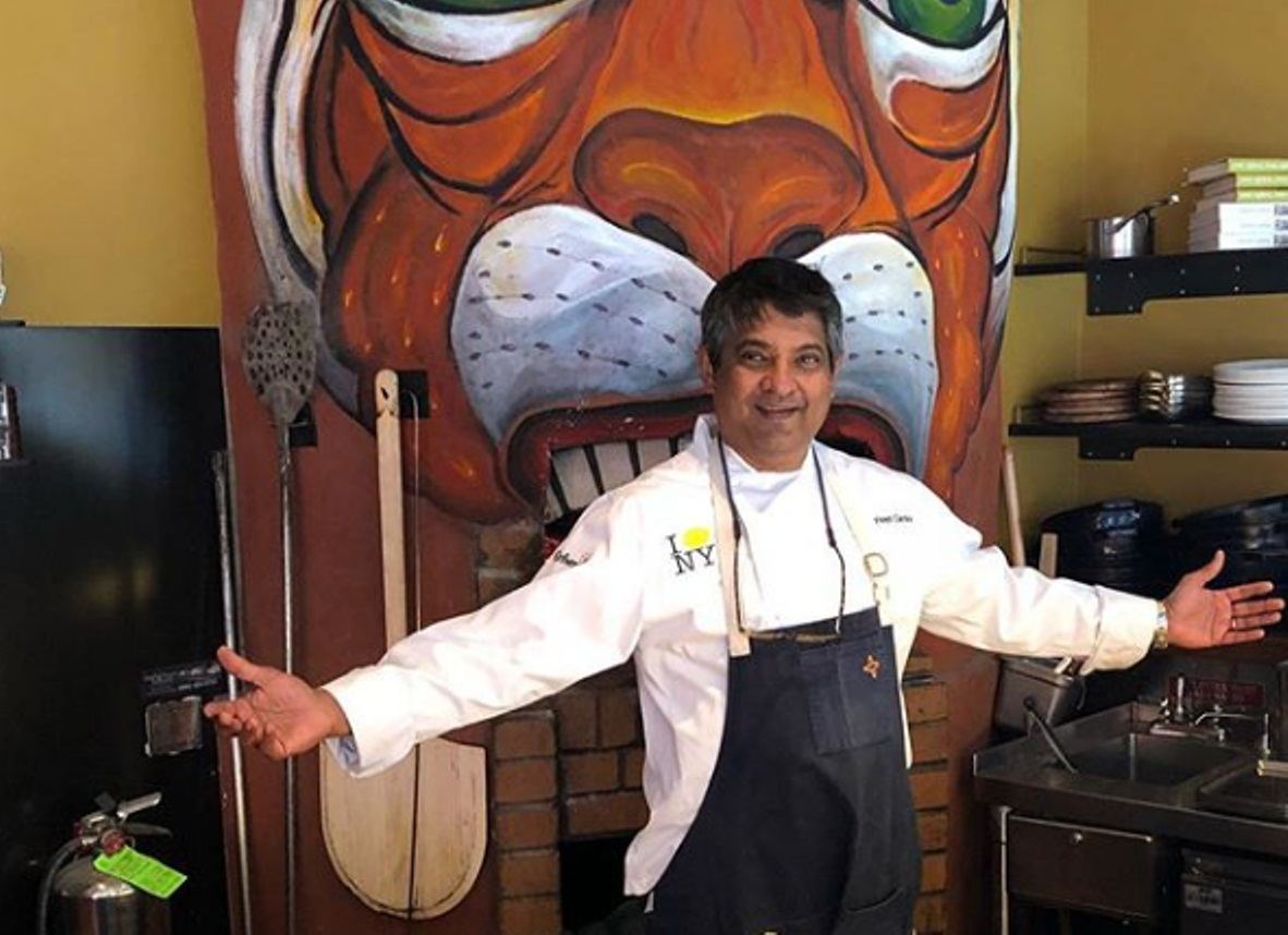 Indian origin chef Floyd Cardoz passed away on Wednesday, after having tested positive for COVID-19. Photo courtesy: Instagram/Floyd Cardoz