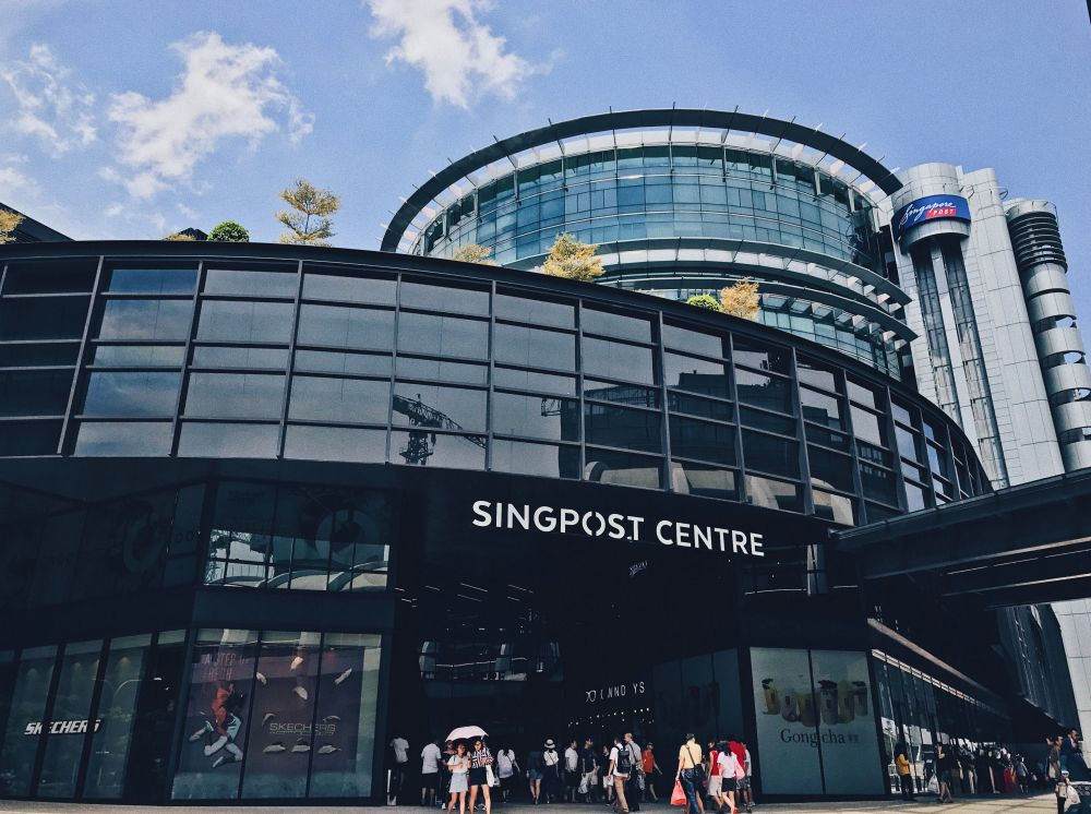 A new cluster of COVID-19 infections has been identified at SingPost Centre on Eunos Road 8. Photo courtesy: www.capitaland.com