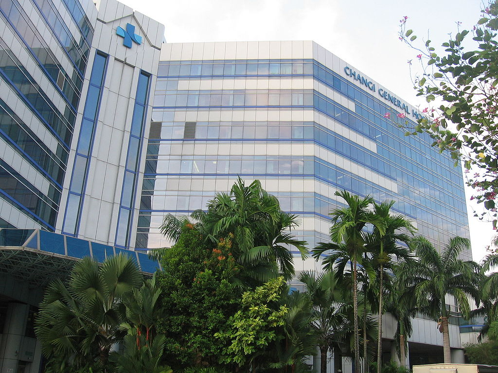 Changi General Hospital. Photo courtesy: I Sengkang on Wikimedia