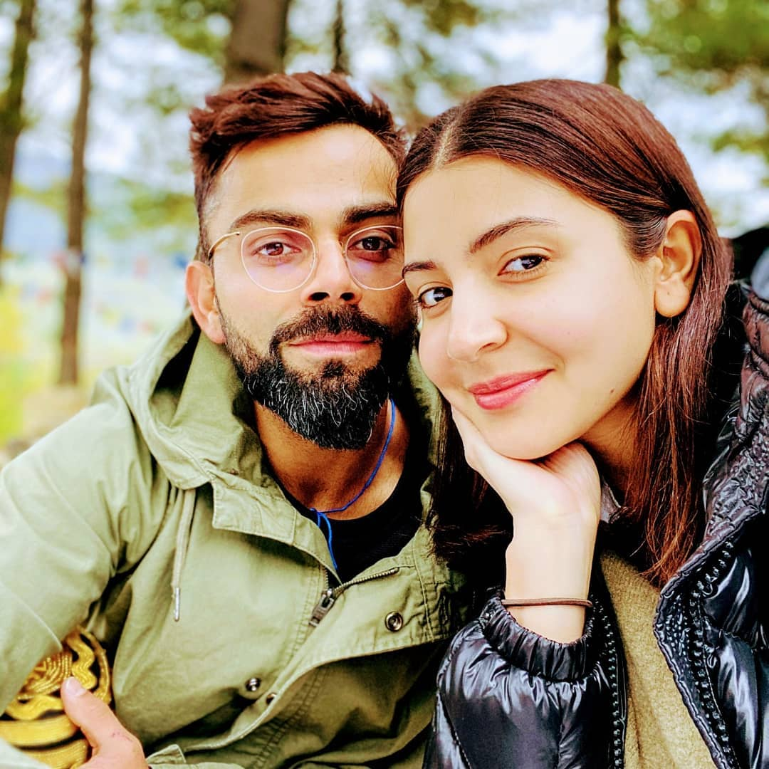 Anushka Sharma and Virat Kohli have been keeping fans entertained with social media posts during the lockdown. File Photo courtesy: Twitter/@AnushkaSharma
