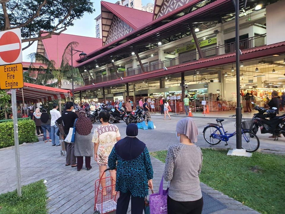 Geylang Serai Market is one of four popular markets which will have restricted entry. Photo courtesy: Facebook/Masagos Zulkifli
