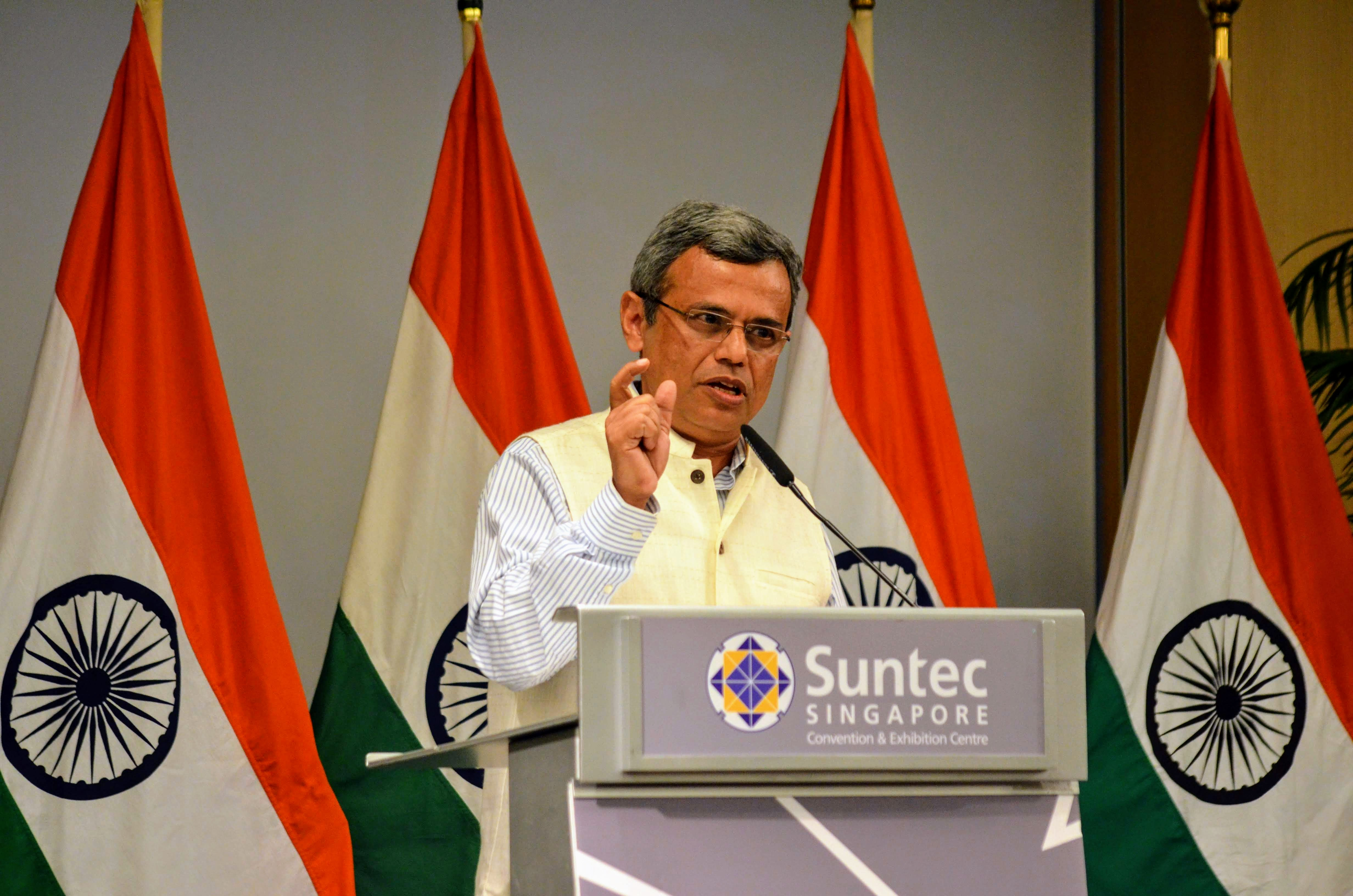 HE Jawed Ashraf, India's High Commission in Singapore Photo: Connected to India