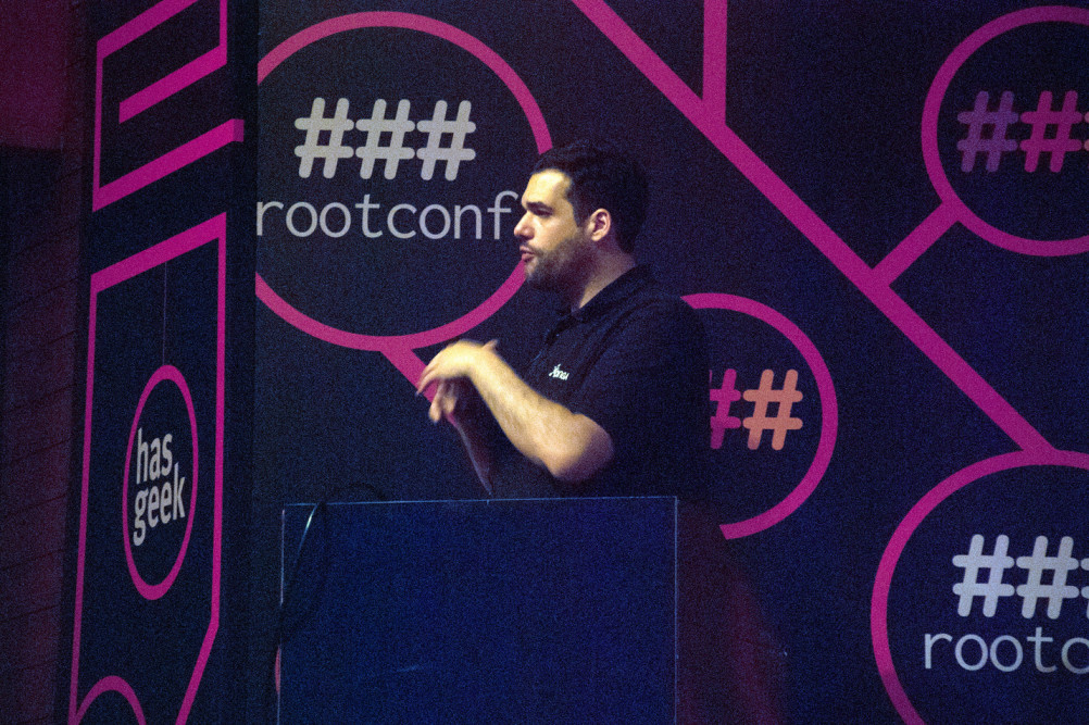 Rootconf2015 Photo courtesy: HasGeek