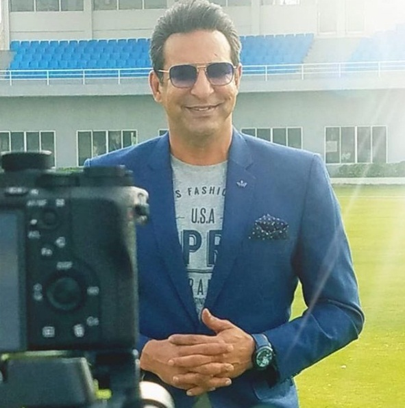 Photo courtesy: Instagram/Wasim Akram