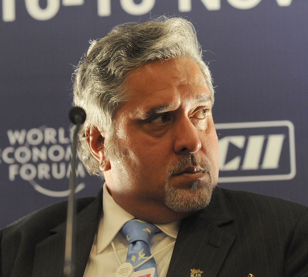Fugitive Indian businessman Vijay Mallya faces extradition in the next 28 days. File photo courtesy: Wikimedia